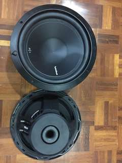 Rockford fosgate punch p1 12inch woofer 2pcs