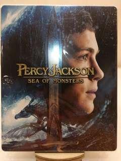 港版 Percy Jackson: Sea of Monsters 2D+3D 藍光 Blu-ray 藍盒 Steelbook