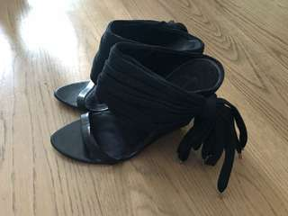 Alexander Wang fringes Sandals Shoes 高踭涼鞋