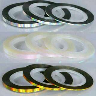 2mm holographic striping tape