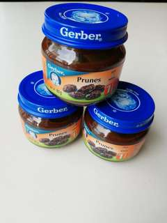 Gerber prunes 1st food