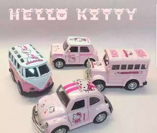 Vintage Hello Kitty Car Series