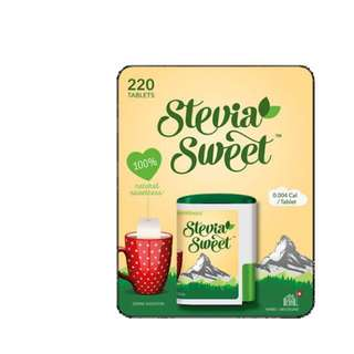 Stevia Sweetener 220 tablets