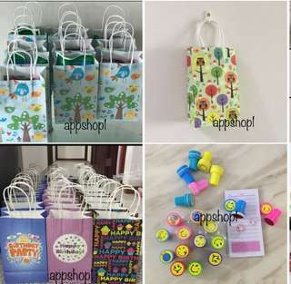 Children birthday party goodies gift, goodie bag, goodie bag packages