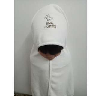 [ HOT ITEM ] BABY PONEY HOODED BABY BLANKET
