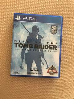 Rise of the tomb raider PS4 CD