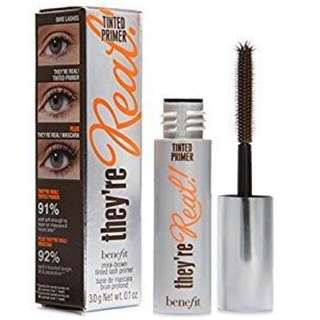 Benefit they're real tinted primer (mini size) with box