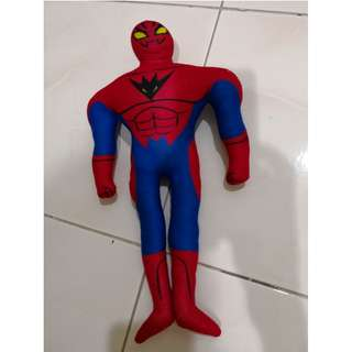 Reduced: Evil spiderman stuff toy