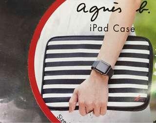 agnis b. iPad case