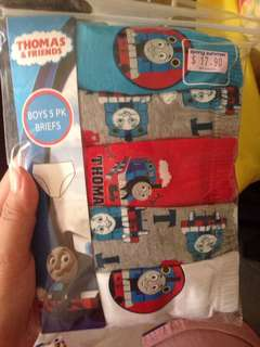 Mothercare Thomas underwear for 5-6 year old