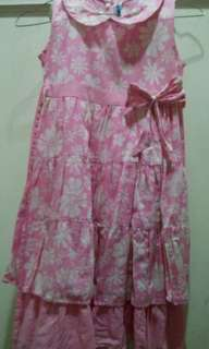 Pinky Floral Dress