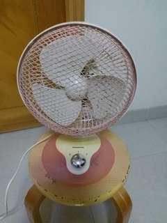 小型座檯電風扇(樂聲牌7吋扇葉)