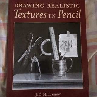 Drawing Realistic Textures in Pencil Art book