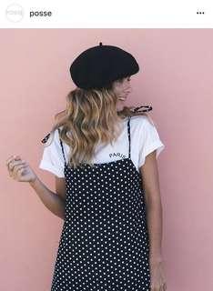 Posse polka dot mini dress