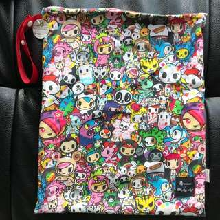 BNWT Itzy Ritzy Wet Bag Tokidoki All Stars Large