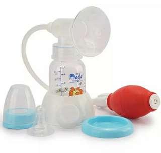 1 pompa ASI dan 18 botol kaca asi dr beli gak pernah dipake