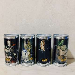 Red Bull Star Wars set of 4