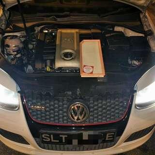 Vw Golf Mk6 2.0L Hurricane Air filter