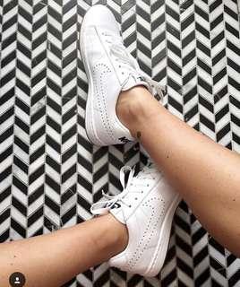 Nike all white runners