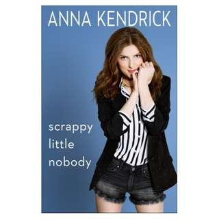 E-book English Book - Scrappy Little Nobody - Anna Kendrick