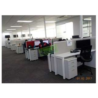 LINEAR WORKSTATIONS  CALL CENTER CUBICLES--KHOMI