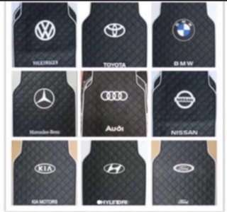 Universal CarMat with Car Brand