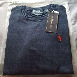 Ralph Lauren men's navy sweater Size M and L brand new