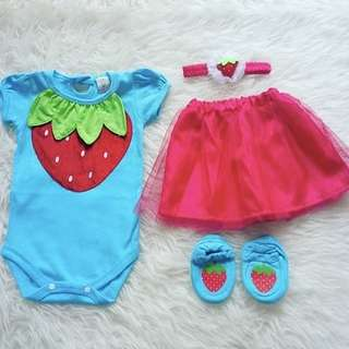 Baby Girl Romper Set