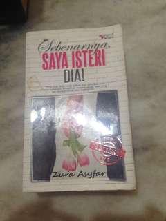 Novel Melayu Sebenarnya saya isteri dia