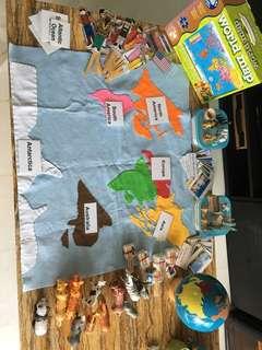 Montessori geography