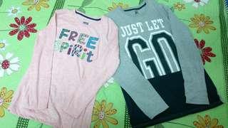 New Super T Long sleeve tshirt pink grey #OCT10