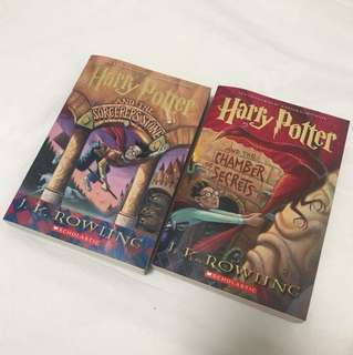 (Reserved) Harry Potter books (US edition, paperback)