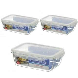 Lock n lock Glass Container