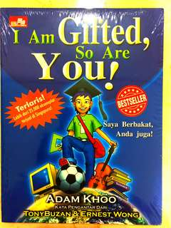 Adam khoo I am gifted, so are you! New