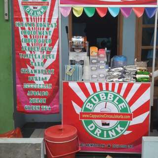 Usaha franchises (buble drink)