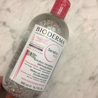 Bioderma makeup remover 500ml