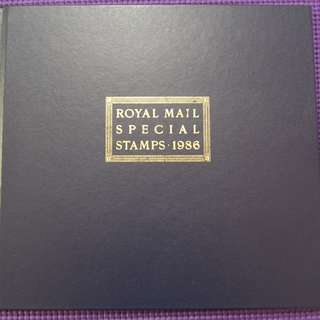 Royal 1986 British Stamp Album
