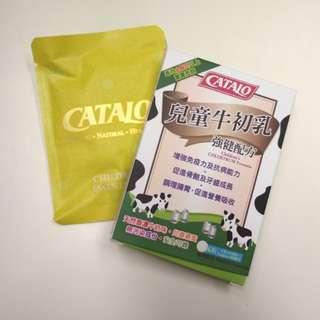 CATALO 兒童牛初乳 牛奶片