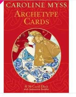 Caroline Myss Archetype cards
