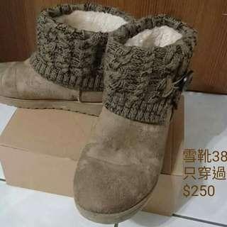 🚚 雪靴(內刷毛)