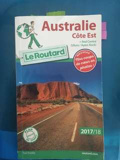 Australia (east coast) Travel book in French