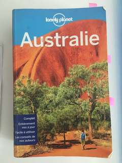 Australia Lonely planet in French