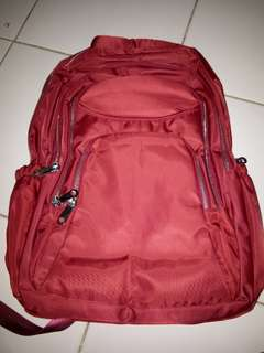 Tas Parasut Red ( Ready : Dark Blue & Black )