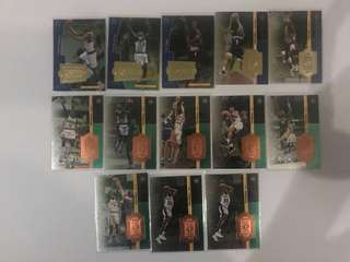 NBA Numbered cards