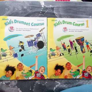 Alfred Kid's Drum Books with CD