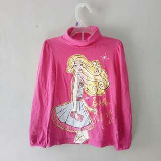 Barbie pink top 7-8y.o