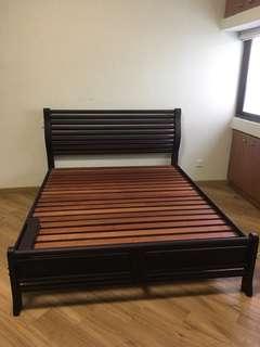 Queen Bed & Mattress for sale