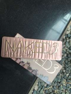 Naked 3 eyeshadow palette original urban decay