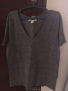 [Overrun] Forever 21 - Vneck Shirt - Large