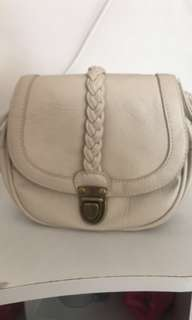 BEIGE over the shoulder small bag